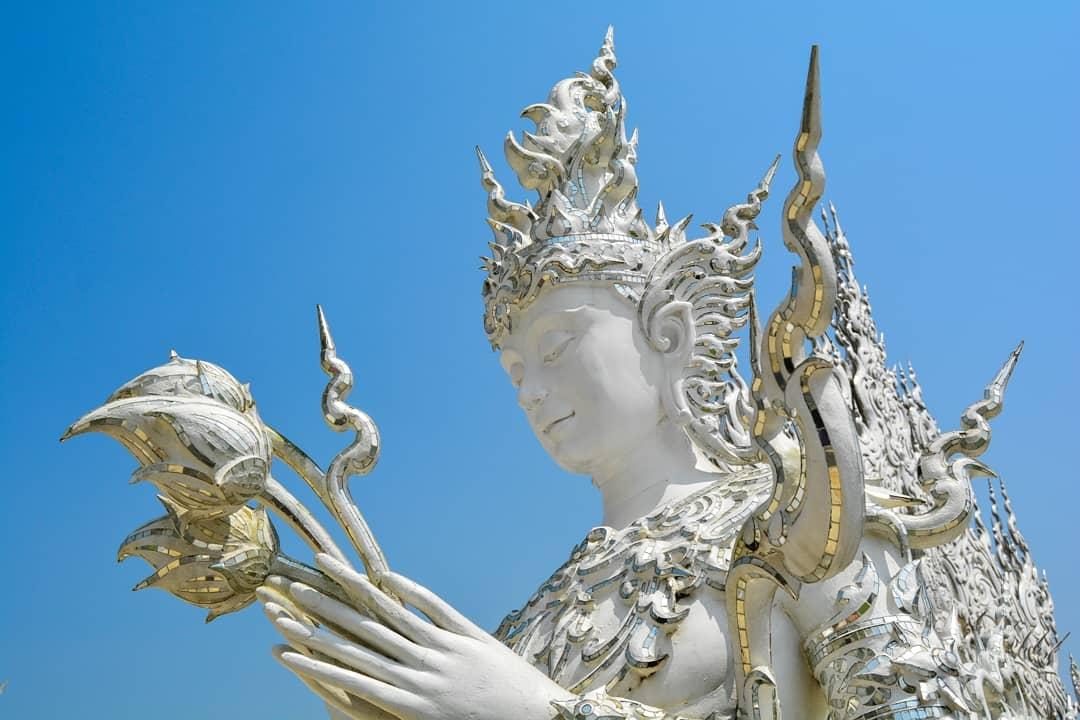 The White Temple Chiang Rai Thailand Wat Rong Khun