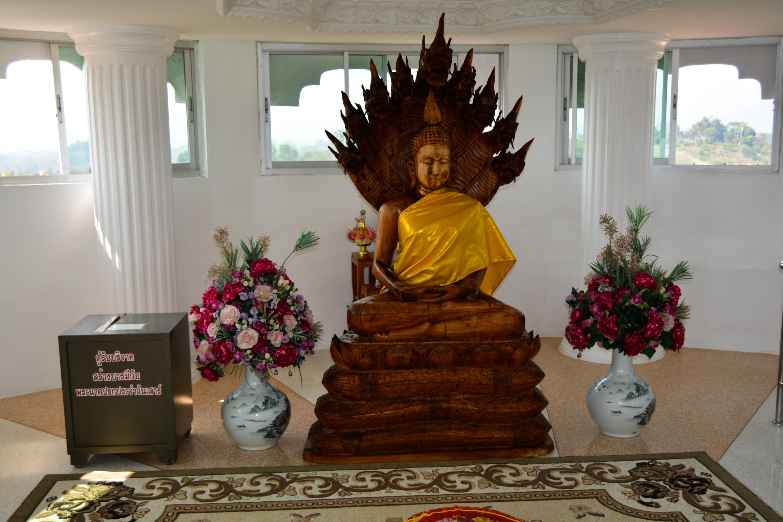Chiang Rai Wat Huay Pla Kang goddess of Mercy