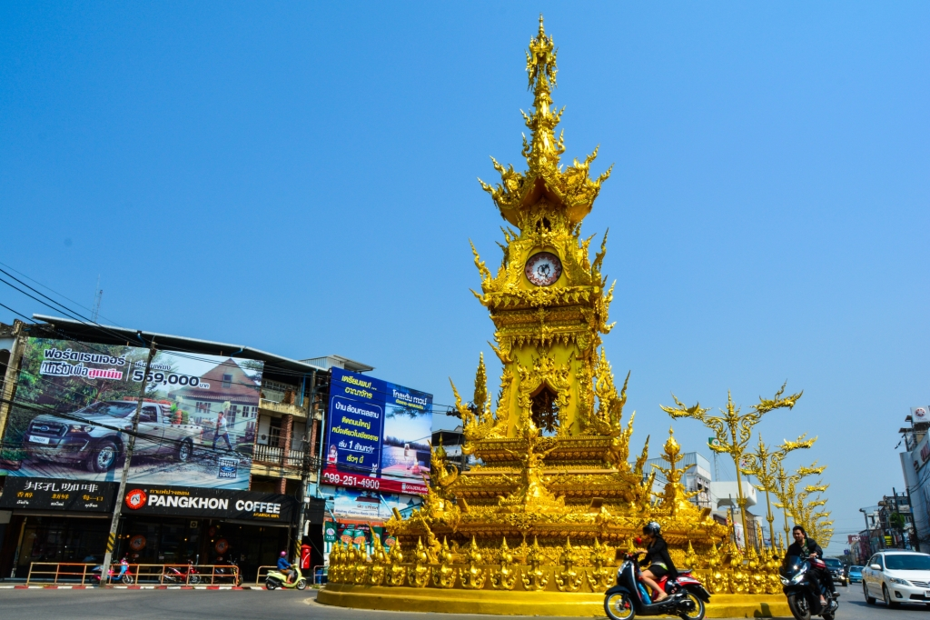 Chiang Rai Clock Tower Thailand