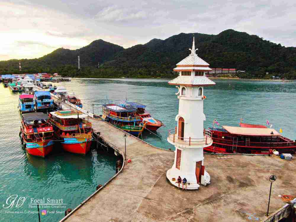 Bangbao Lighthouse Koh Chang