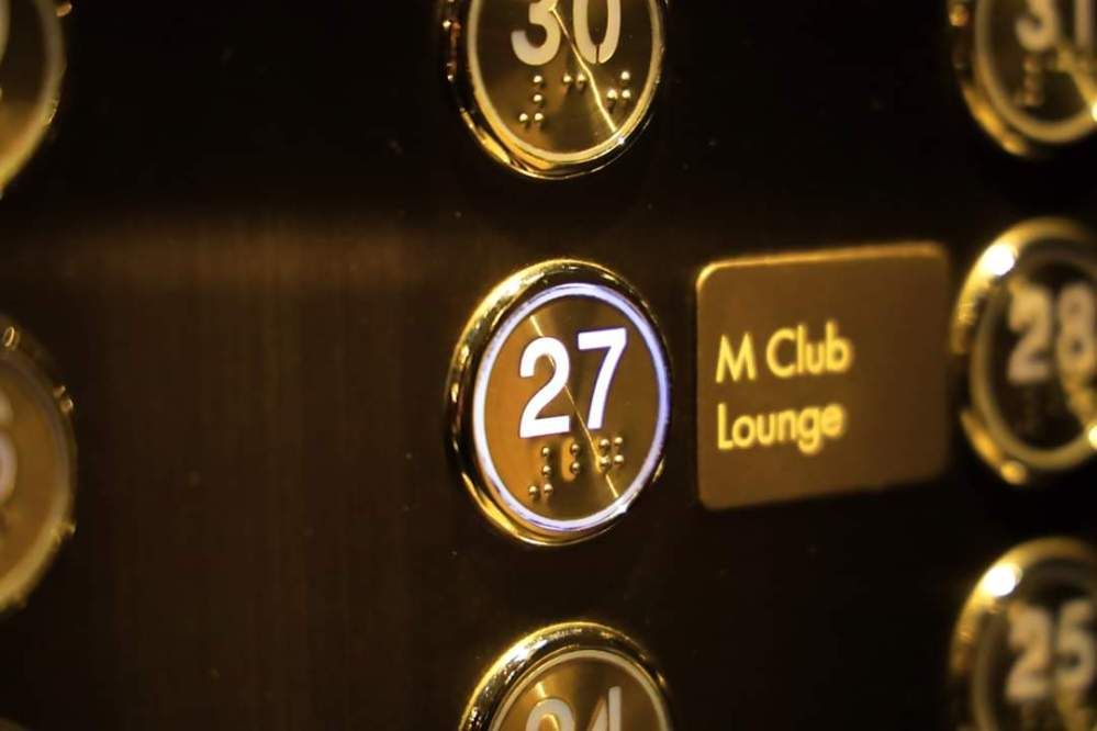 M Club Lounge Bangkok Marriott Marquis Queen's Park