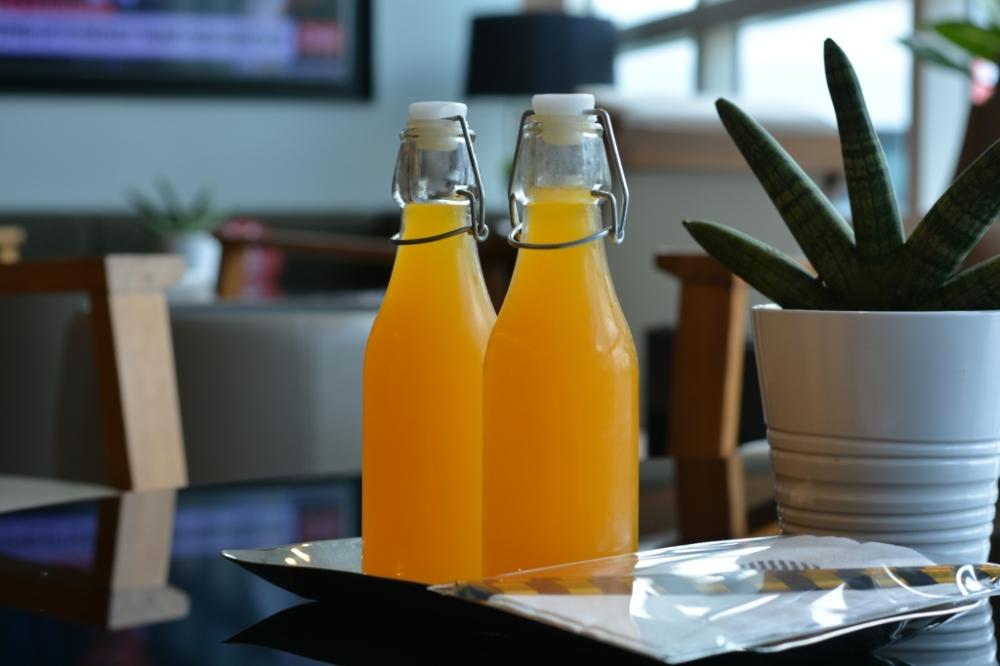 orange juice executive lounge pullman king power bangkok