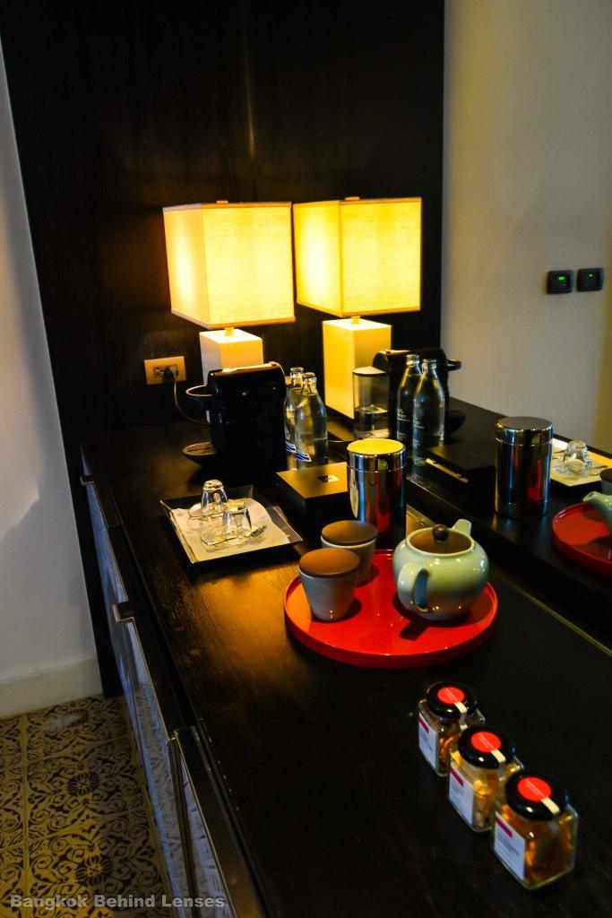 amenities Grand King Suite grand hyatt erawan bangkok