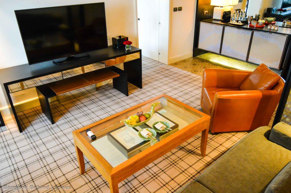 living room Grand King Suite grand hyatt erawan bangkok