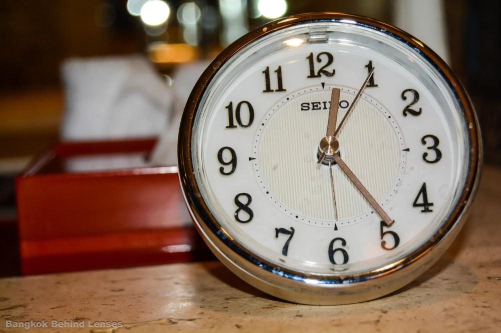 clock Grand King Suite grand hyatt erawan bangkok