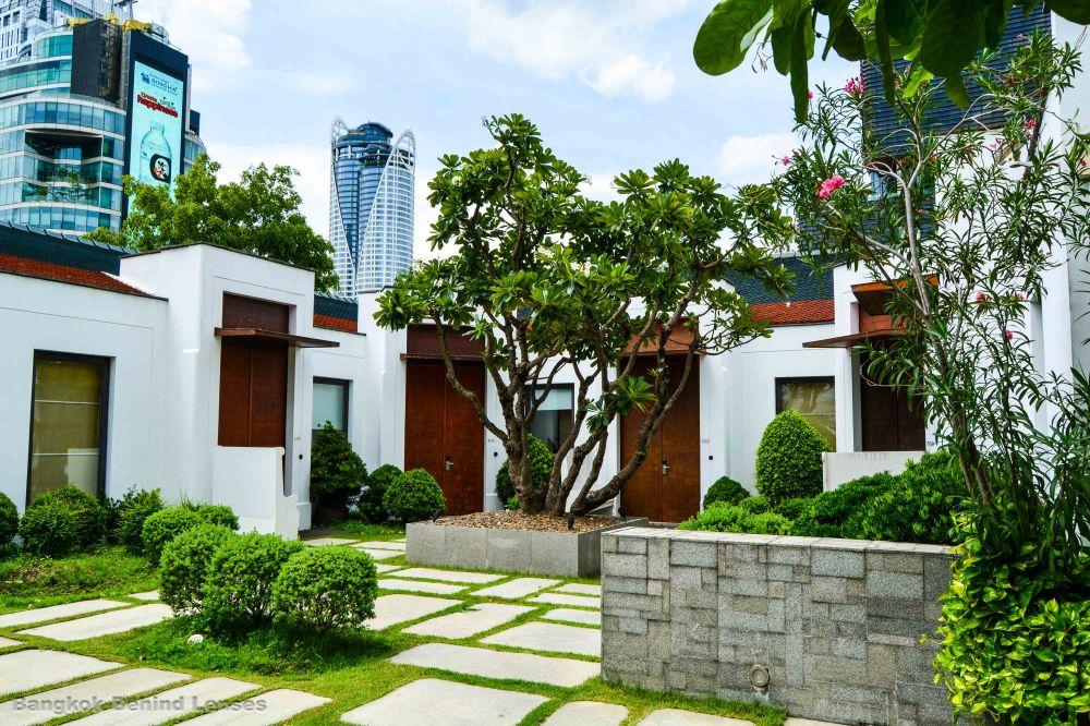 garden villas grand hyatt erawan bangkok