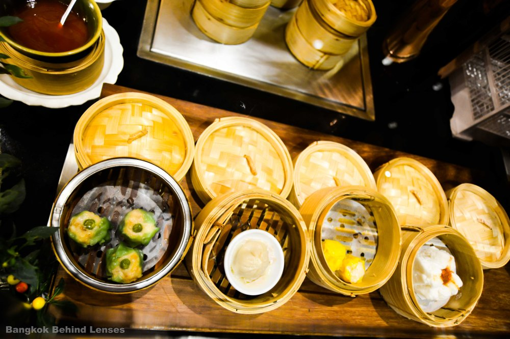 dumplings steamed up The Dining Room International Buffet grand hyatt erawan bangkok