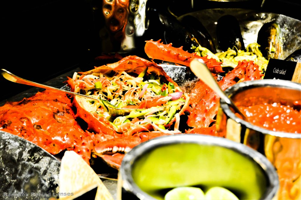 somtam crab The Dining Room International Buffet grand hyatt erawan bangkok