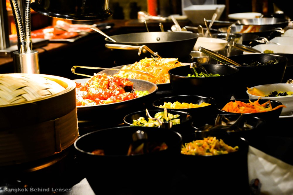 korean food The Dining Room International Buffet grand hyatt erawan bangkok