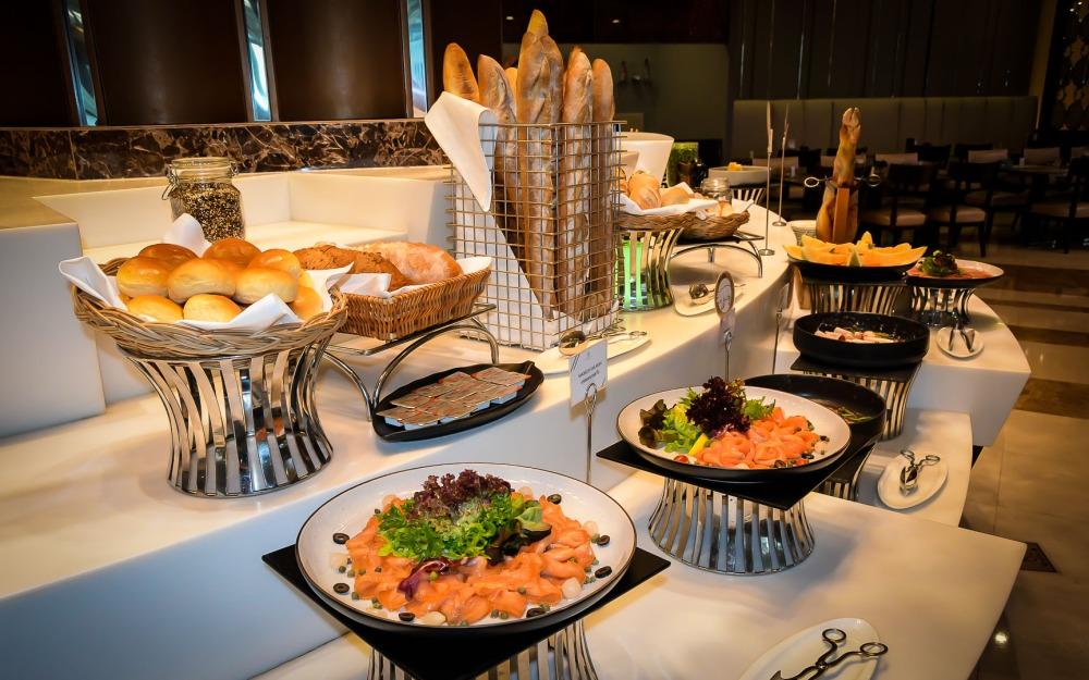 salmon bread berkeley dining room bangkok